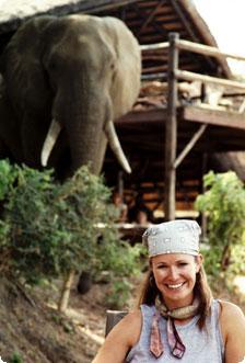 Sassy Safari Girl
