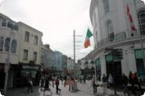 Bustling Galway High Street