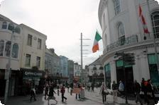 Bustling Galway High Street