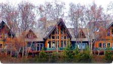 The Ridgewood Wilderness Lodge.