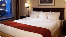 A room at the Nashville Holiday Inn.