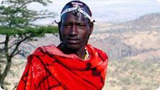 Young Masai man