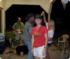 Sheila - good times at the Raw Bar