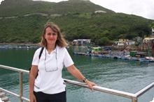 Paula touring China