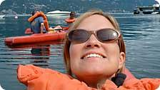 Self-portrait with Kayak
