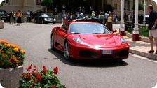 Luxury cars infront of Monte Carl casino