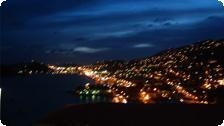 Charlotte Amalie at night