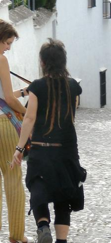 A Dreadlocked Mullet in Granada
