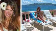 The author in the Virgin Islands