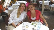 With Maria Sipka in Barcelona 6/2007