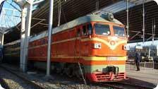 a train in China