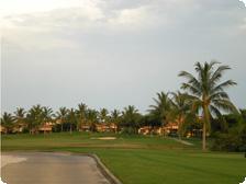 The golf course at Punta Mita