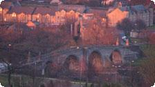 Stirling Bridge at Sunset
