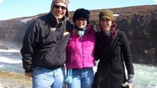 Johnny Jet, Teresa, and Heather