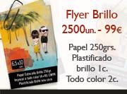 Originarte impresión Folleto Flyer Brillo