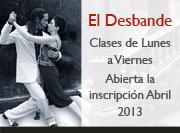 El Desbande: Clases de tango