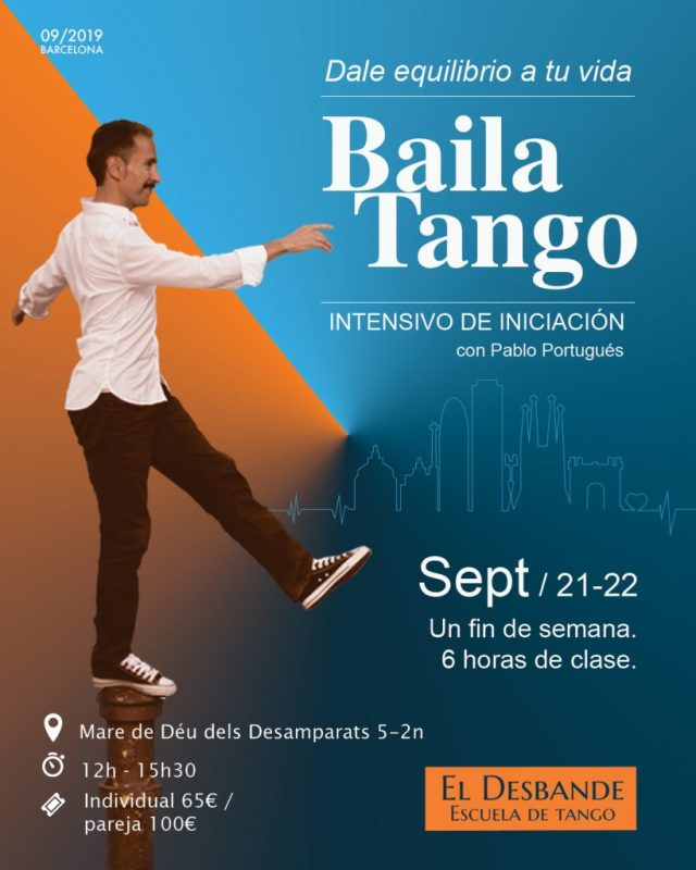 Intensivo de Iniciación al tango