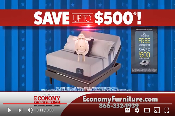 Economy Furniture President's Day Sale