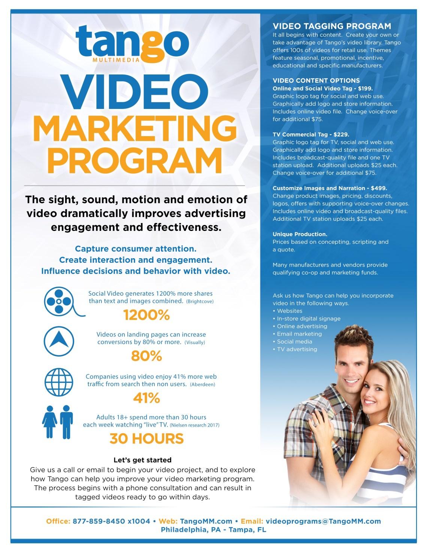Video Marketing by Tango
