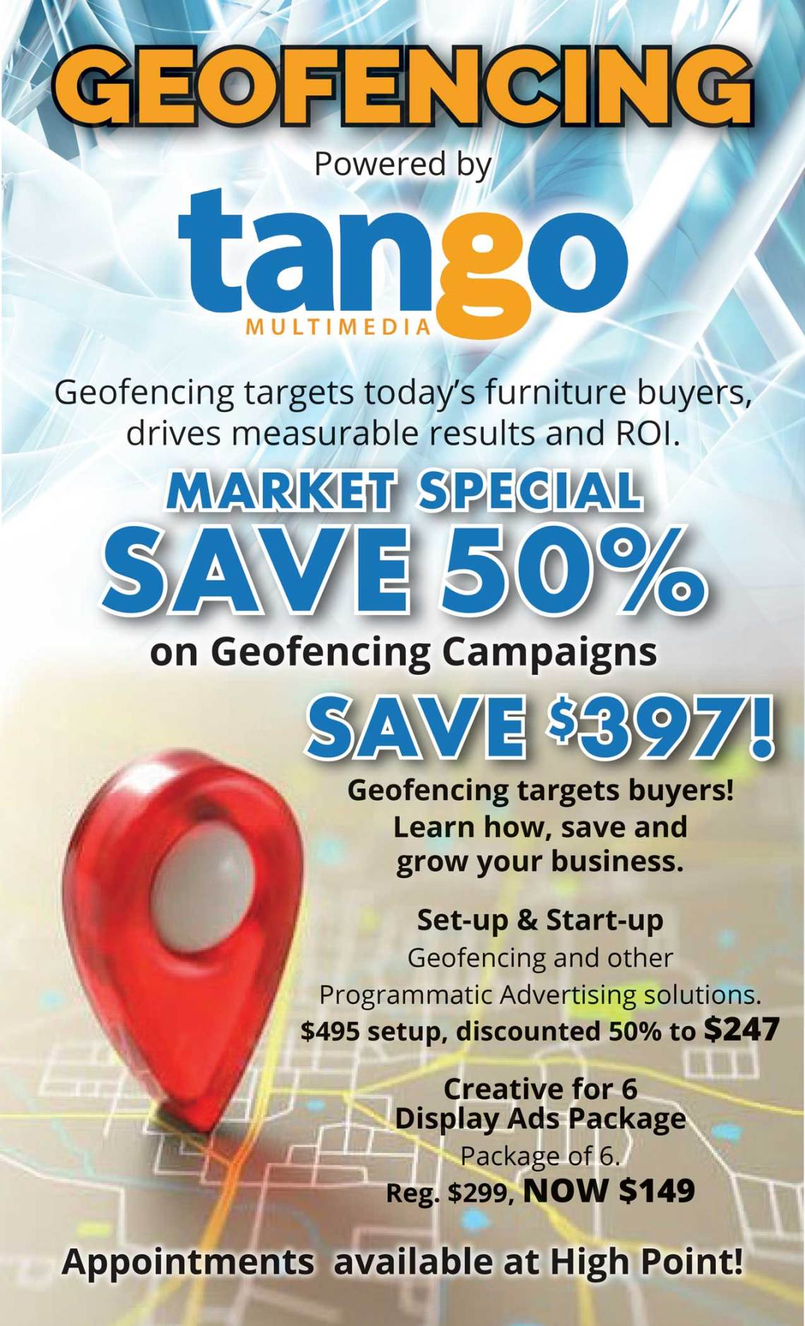 Geofencing powered by Tango Multimedia