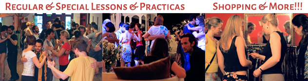 Special Tango Events and Shopping