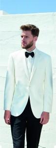 White Tuxedo Suit