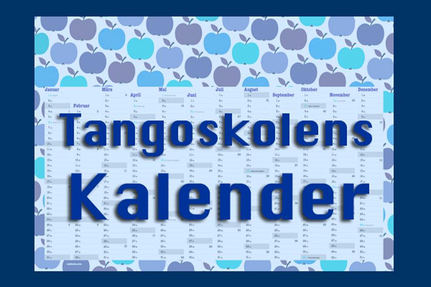 Tangoskolens Calendar