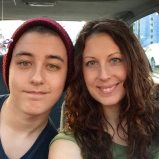 My 17 Year Old Son & I. April 2016