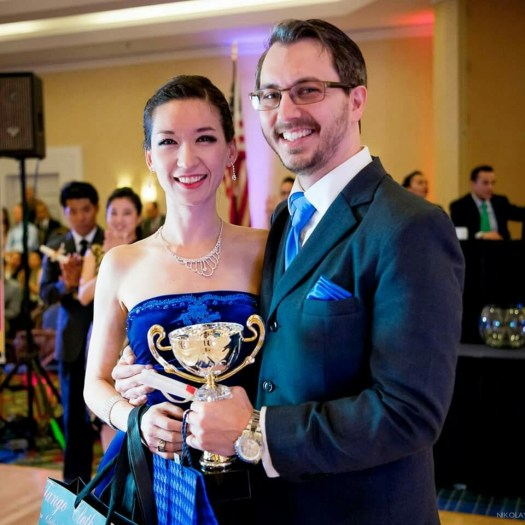 Adam Cornett & Tilly Kimm, 2016 USA Salon Tango Champions