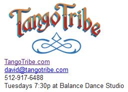 Tango Tribe signature block