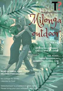 [T?] Pop-up Outdoor Afternoon Milonga at The Plaza @ Arya Residences, BGC @ The Plaza @ Arya Residences