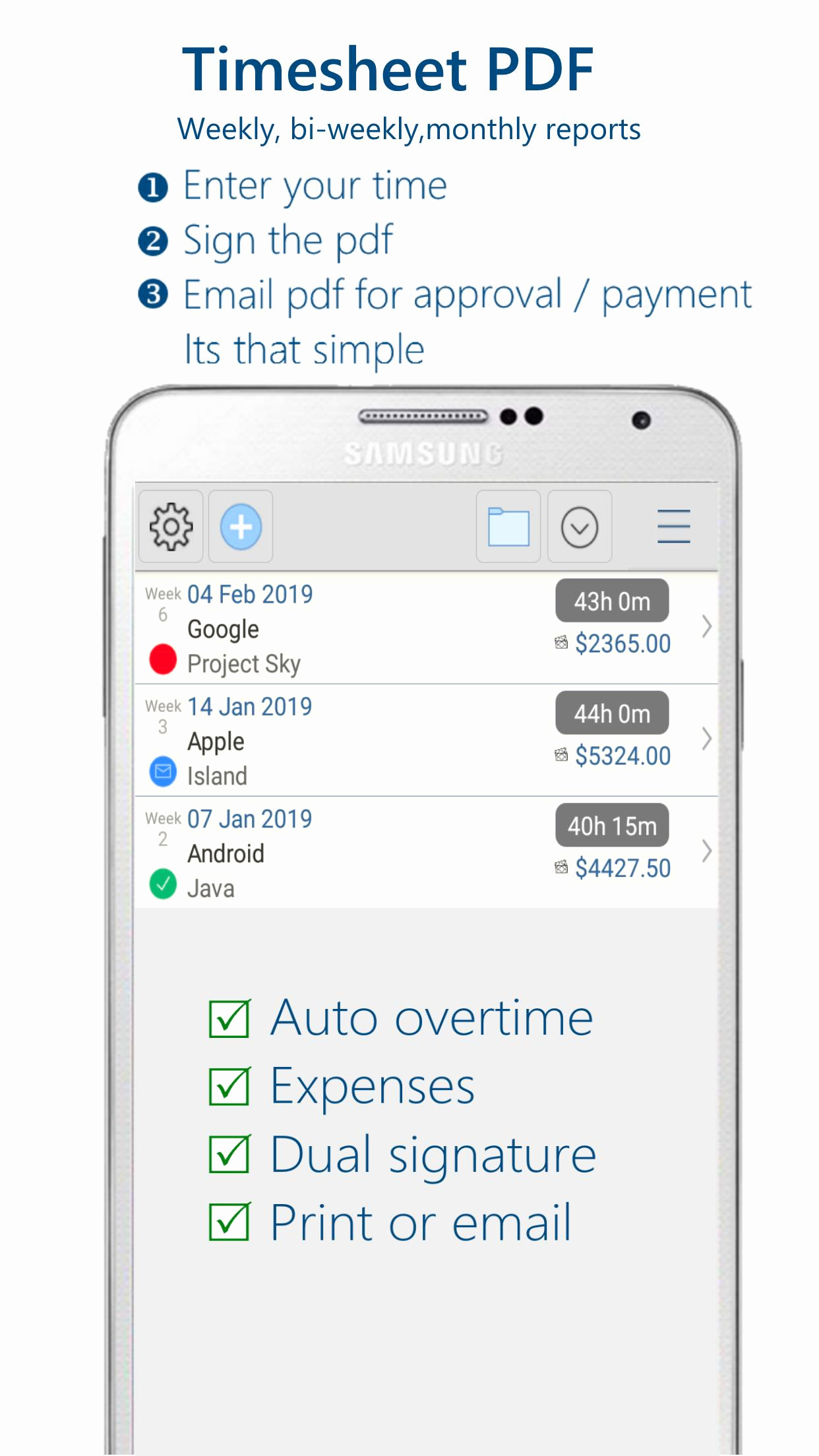 C Timesheet Application Of Timesheet For Android Apk