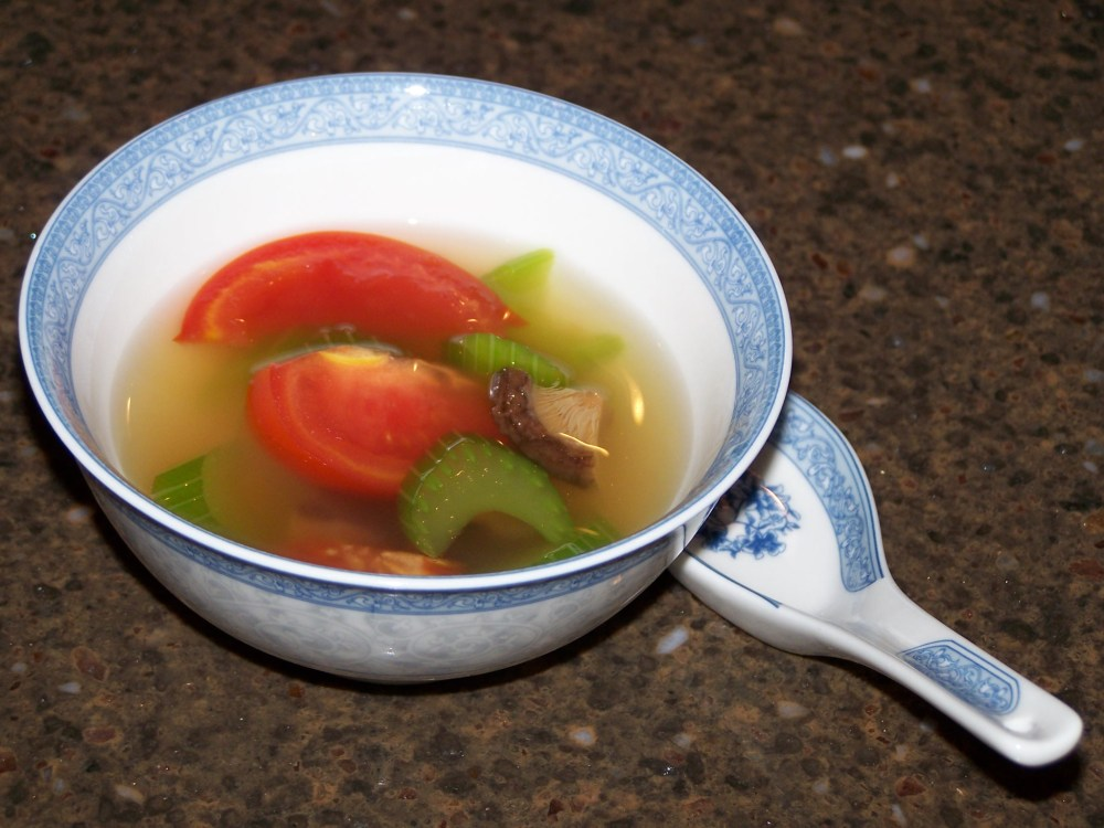 Simple Chinese Vegetable Soup