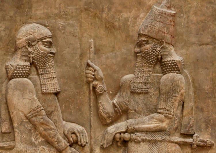 Image result for King Rezin of Aram