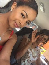 Still snappin pics. She was doin thangs behind me, I'm not sure.