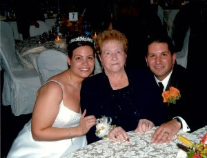 Nonna at our wedding in 2005