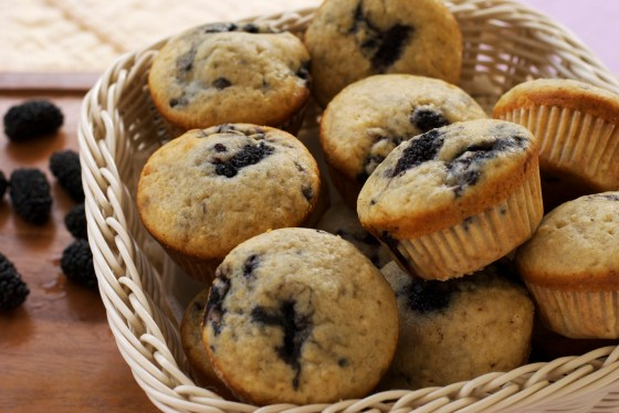 blackberry muffins 4