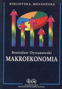 Makroekonomia 211x300 - Makroekonomia - Bronisław Oyrzanowski