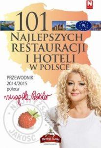 101 najlepszych restauracji i hoteli w Polsce 206x300 - 101 najlepszych restauracji i hoteli w Polsce - Magda Gessler