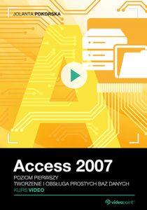 Access 2007 210x300 - Access 2007. Kurs video. Poziom pierwszy. Tworzenie i obsługa prostych baz danych