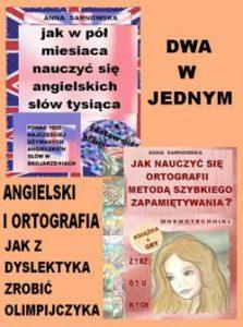ANGIELSKI I ORTOGRAFIA 223x300 - ANGIELSKI I ORTOGRAFIA. JAK Z DYSLEKTYKA ZROBIĆ OLIMPIJCZYKA ANNA SARNOWSKA