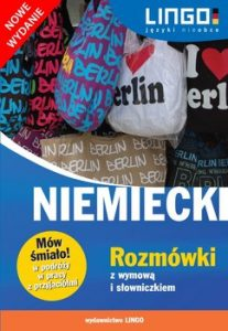 Niemiecki. Rozmowki z wymowa i slowniczkiem 207x300 - Niemiecki Rozmówki z wymową i słowniczkiem Piotr Domin