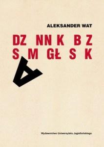 Dziennik bez samoglosek 213x300 - Dziennik bez samogłosek Aleksander Wat