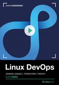 Linux DevOps 210x300 - Linux DevOps. Kurs video. Jenkins, Ansible, Terraform i Traefik