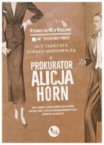 Prokurator Alicja Horn 215x300 - Prokurator Alicja HornTadeusz Dołęga-Mostowicz