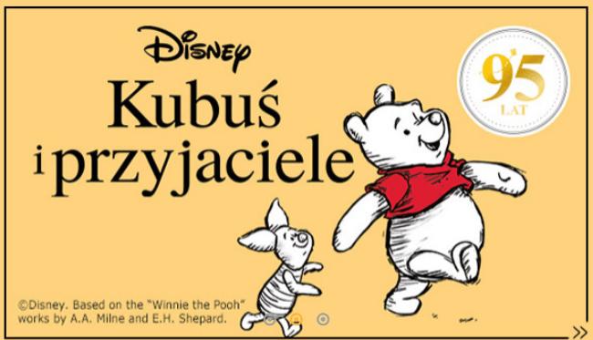 Kubus Puchatek i przyjaciele Nowe ksiazki w promocyjnych cenach - Kubuś Puchatek i przyjaciele Nowe książki w promocyjnych cenach