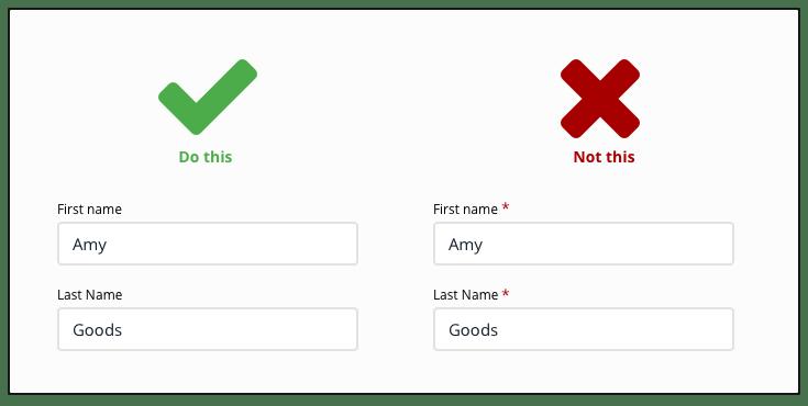 Form UX.