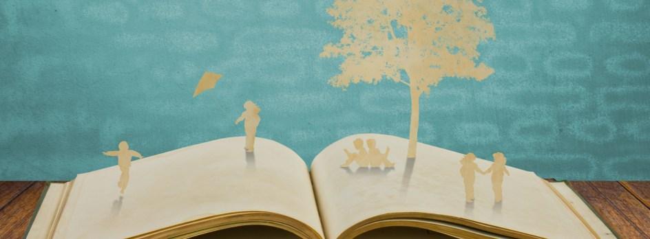 Un livre ouvert.