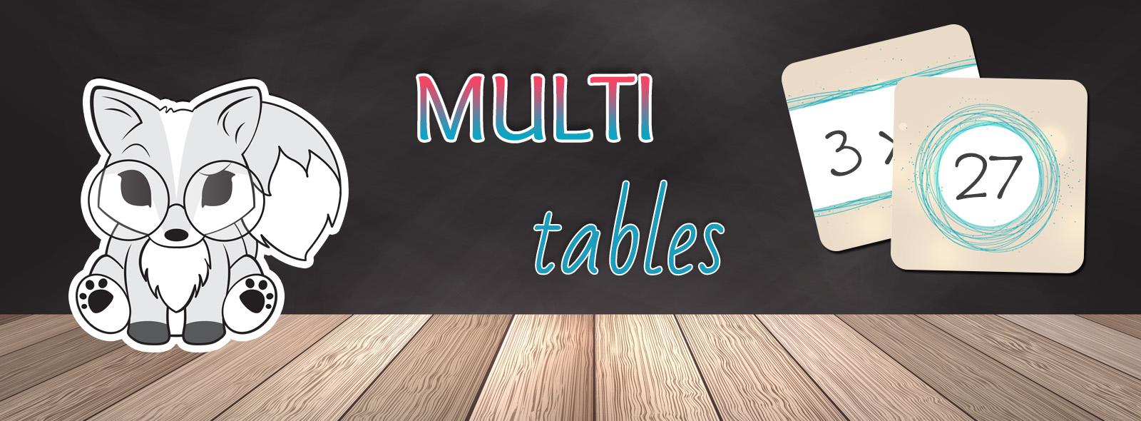 La tani re de kyban un peu de tout et de rien pour professeurs des coles - Reviser les tables de multiplications ...