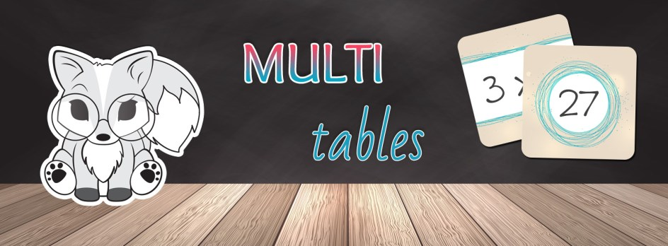 Multi tables 3 jeux pour r viser les tables de - Reviser les tables de multiplications ce2 ...